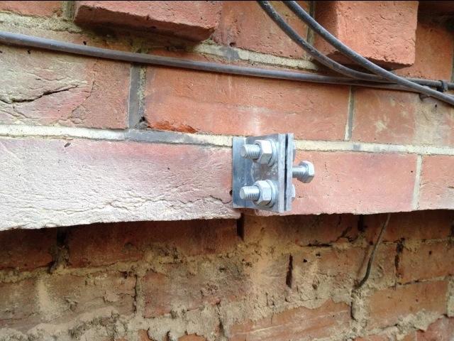 Image result for brick brace images